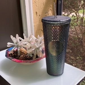 ⭐️STARBUCKS⭐️ NEW DARK GRAY STUDDED TUMBLER